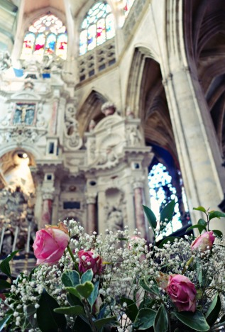 church-flowers