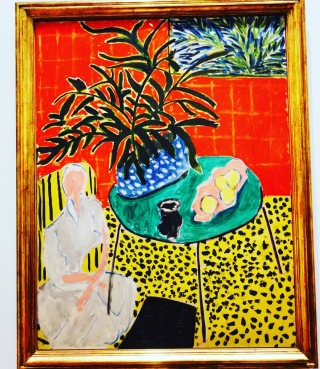 Matisse expo in Lyon